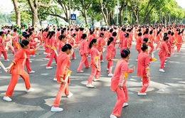 Vinamilk Sure Prevent tiếp tục đồng hành cùng phong trào rèn luyện sức khỏe người cao tuổi tại Hà Nội