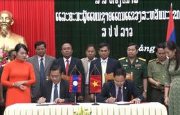 Quảng Bình ký kết biên bản hợp tác biên giới với tỉnh Sạ Vẳn Na Khệt, Lào