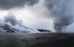 Hawaii báo động vì mây acid từ dung nham núi lửa