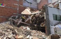 Sập nhà đang tháo dỡ, 1 người thiệt mạng