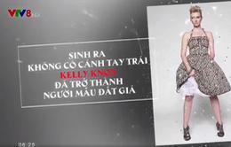 Cô gái bị Down và người mẫu không tay tại Tuần lễ thời trang New York