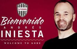 Andres Iniesta ra mắt CLB Nhật Bản