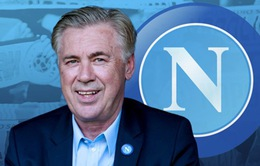 CHÍNH THỨC: HLV Carlo Ancelotti dẫn dắt Napoli