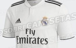 Rò rỉ hình ảnh mẫu áo đấu mới mùa giải 2018/ 2019 của Real Madrid