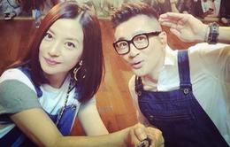 Triệu Vy, Tô Hữu Bằng, Thư Kỳ hội ngộ trong chương trình về ẩm thực