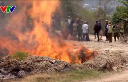 Phú Yên tiêu hủy gần 160 loại hàng hóa không rõ nguồn gốc xuất xứ