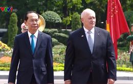 Chủ tịch nước Trần Đại Quang chủ trì lễ đón Toàn quyền Australia