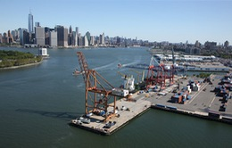 Cảng biển Mỹ gặp khó vì căng thẳng thương mại Mỹ-Trung