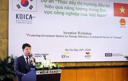 Hàn Quốc tài trợ 1,9 triệu USD cho dự án tiết kiệm năng lượng ở Việt Nam