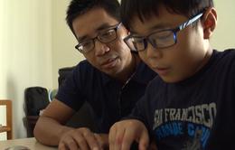 Ông bố Việt tự viết sách dạy tiếng Anh cho con