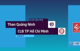Tổng hợp diễn biến Than Quảng Ninh 1–0 CLB TP Hồ Chí Minh