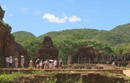 Quảng Nam: Du khách tham quan di sản thế giới Mỹ Sơn tăng đột biến