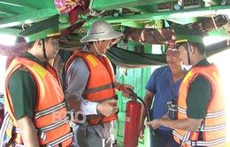 BĐBP Bình Định tăng cường phòng cháy chữa cháy tàu thuyền