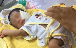 Cứu kịp thời trẻ sơ sinh nghi bị chôn sống