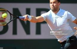 Vòng 1 Pháp mở rộng 2018: Dimitrov, Zverev thắng nhàn ở vòng 1