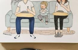 Những tình huống hài hước cha mẹ nào cũng gặp phải khi có con nhỏ