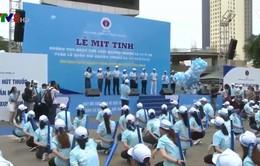 Đà Nẵng: Mít-tinh hưởng ứng Ngày thế giới không thuốc lá