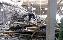 Nam Định: Sập giàn giáo xây dựng, 2 người thương vong