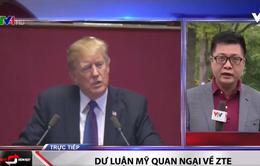 Tổng thống Mỹ Donald Trump tìm cách hồi sinh ZTE