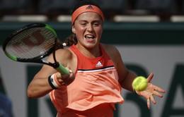 Pháp mở rộng 2018: ĐKVĐ Jelena Ostapenko thua sốc ngay vòng 1