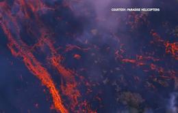 Dung nham của núi lửa Kilauea tiến sát khu vực nhà máy điện địa nhiệt
