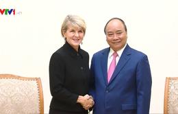 Thủ tướng Nguyễn Xuân Phúc tiếp Bộ trưởng Bộ Ngoại giao Australia