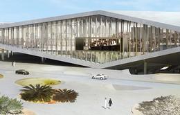 Khám phá thư viện quốc gia 1 triệu cuốn sách tại Qatar