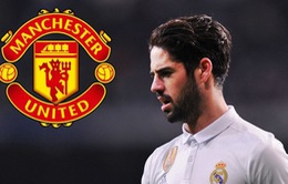 """Cùng với Bale, Man Utd tính """"cuỗm"""" cả Isco khỏi Real Madrid"""