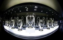 Real Madrid hết chỗ trưng bày cúp Champions League