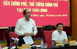 Tổ công tác của Thủ tướng kết thúc đợt làm việc tại Thái Bình