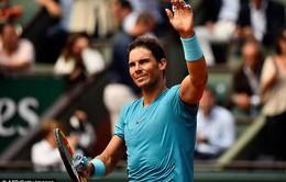 Rafael Nadal không tham dự giải quần vợt Paris Masters 2018