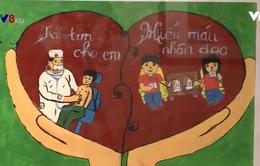 """Triển lãm tranh """"Nâng cánh ước mơ"""" tại Đà Nẵng"""