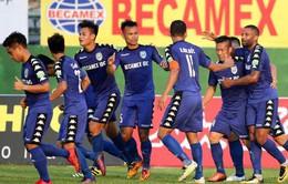 Tổng hợp diễn biến trận đấu Becamex Bình Dương 5-1 CLB Sài Gòn