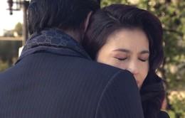 Tình khúc Bạch Dương - Tập 25: Vân mắt ngấn lệ ôm chặt Quang trước giờ chia tay