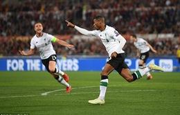 ẢNH: Thua AS Roma, Liverpool vẫn hiên ngang tiến vào chung kết Champions League