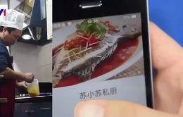 Nở rộ dịch vụ phục vụ đồ ăn tại Trung Quốc