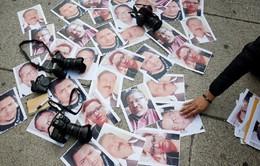 Số lượng nhà báo bị sát hại trên thế giới tăng mạnh từ đầu năm