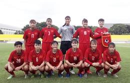 Giải bóng đá U16 nữ ĐNÁ 2018: U16 nữ Việt Nam có chiến thắng đầu tiên