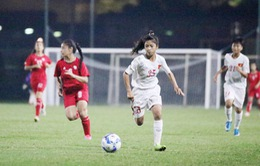 U16 nữ Việt Nam có chiến thắng đầu tiên tại U16 ĐNÁ 2018