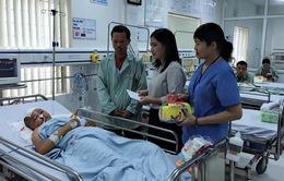 Chào mừng ngày Quốc tế thiếu nhi tại bệnh viện Xanh Pôn