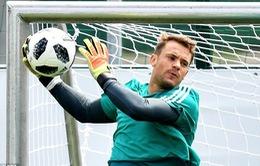 Manuel Neuer trở lại tập luyện cùng ĐT Đức