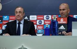 Buổi họp báo của Real Madrid: Zidane chia tay đội bóng Hoàng gia
