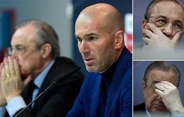 CHÍNH THỨC: Zidane tuyên bố từ chức HLV trưởng Real Madrid