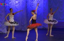 Buổi biểu diễn đặc biệt của nghệ sĩ múa ballet kỳ cựu người Uzbekistan