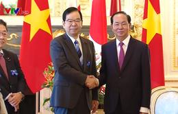 Chủ tịch nước tiếp lãnh đạo Đảng Cộng sản và Đảng Công Minh Nhật Bản