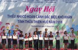 Thừa Thiên Huế tổ chức ngày hội cho trẻ em có hoàn cảnh đặc biệt khó khăn