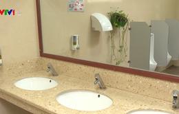 Mô hình nhà vệ sinh 5 sao của Bệnh viện E