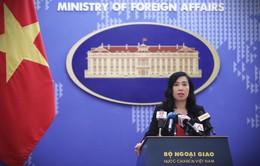 Việt Nam yêu cầu Trung Quốc chấm dứt ngay các hoạt động xâm phạm chủ quyền ở Hoàng Sa, Trường Sa