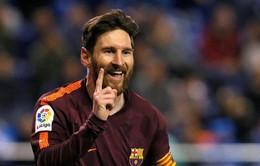 Cuộc đua Chiếc giày vàng châu Âu: Messi chiếm vị trí số 1 của Salah