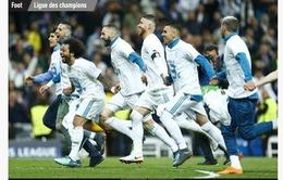 """Báo chí thế giới thừa nhận Real Madrid… """"bất tử"""""""